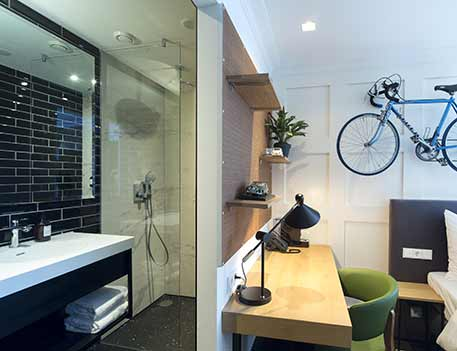 double room bicycle